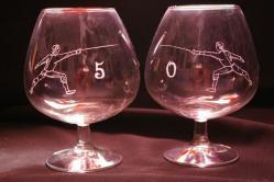 Duo de verres à cognac