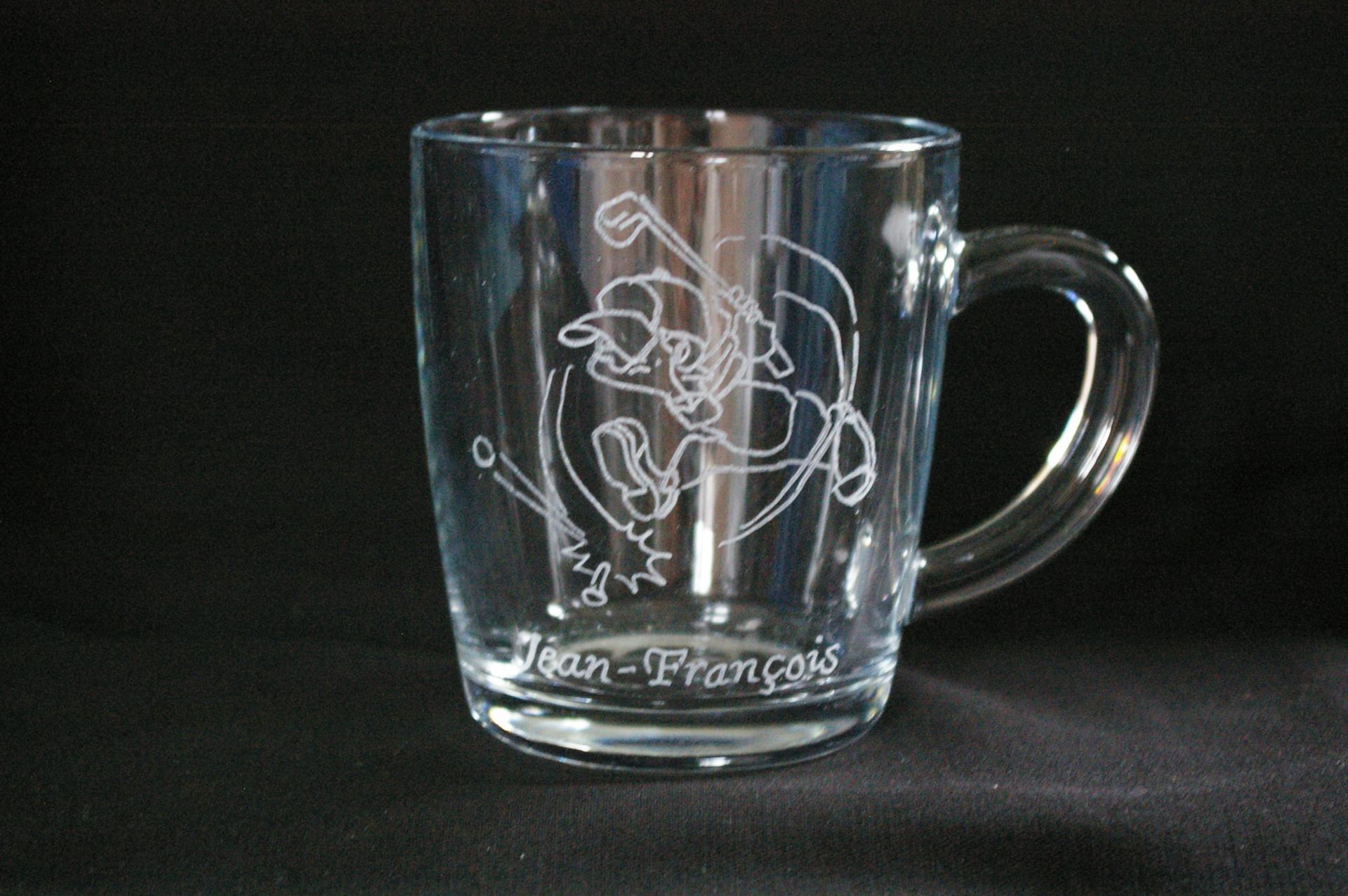 Célèbre trophées en verre gravés et personnalisés UK23